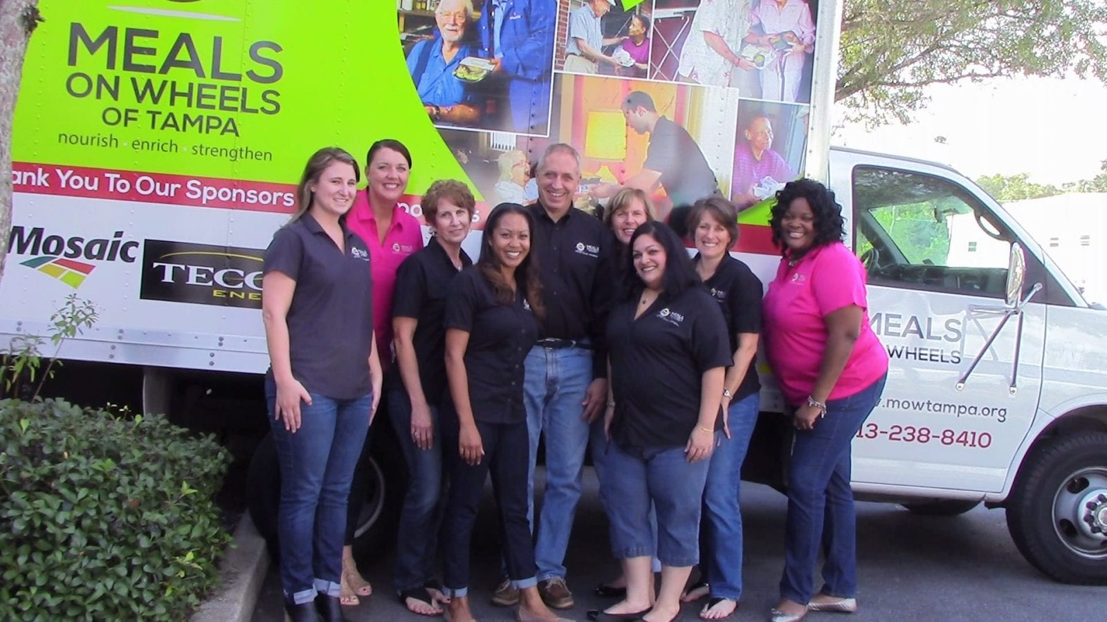 Meals On Wheels of Tampa staff.