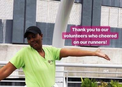 Amazing volunteer