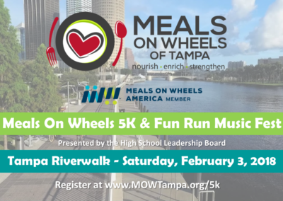 Meals On Wheels of Tampa 5K and Fun Run Cover Photo