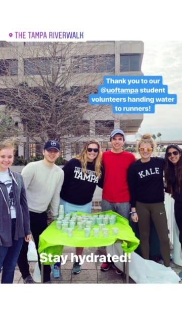 Thanks UT for volunteering