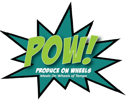 produce on wheels pow meals on wheels of tampa